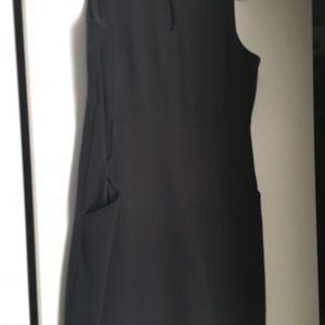 Land's End Black Shift Dress